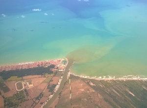 La portata dell'Arno nel periodo estivo