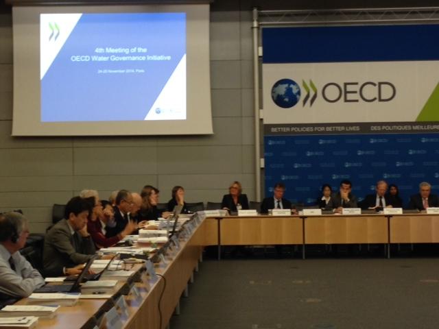 Conferenza plenaria OECD in previsione del 7° forum Mondiale dell'Acqua