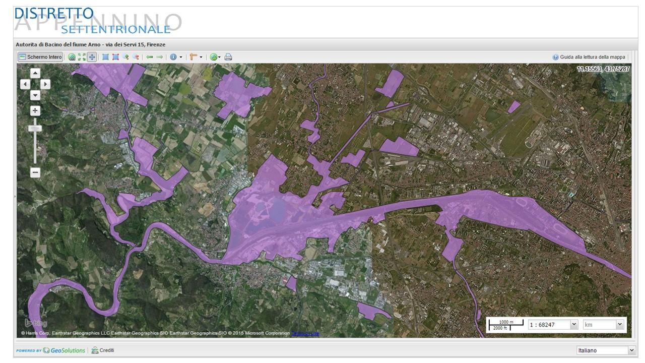 Aree a contesto fluviale nel tratto fiorentino dell'Arno