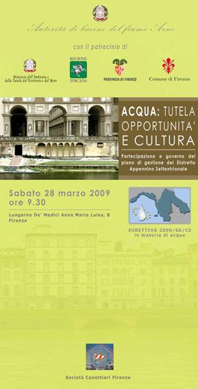 """Acqua: tutela, opportunità e cultura"""" - [ b]"""